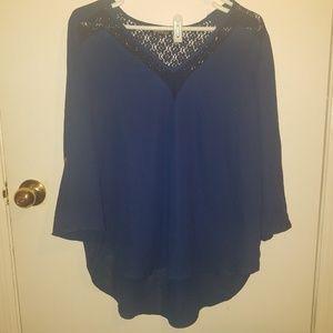 XL stitch fix exclusive papermoon light blouse